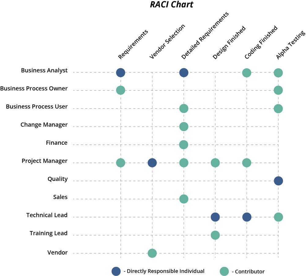 Figure: RACI Chart